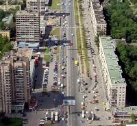 Транспортные развязки на пересечении МКАД с Ленинским и Мичуринским проспектами